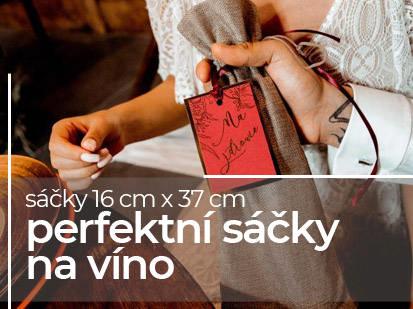 Perfektní sáčky na víno. Sáčky 16cm x 37cm