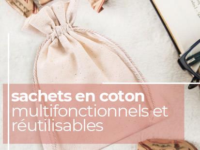 sachets en coton
