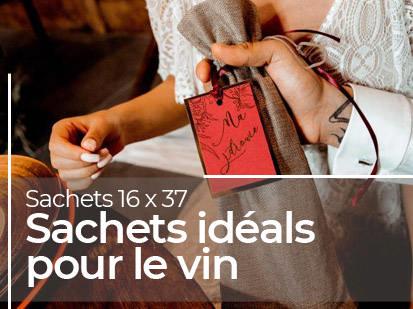 Sachets idéals pour le vin