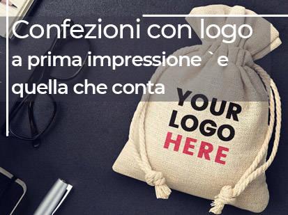 Confezioni con logo: la prima impressione `e quella che conta