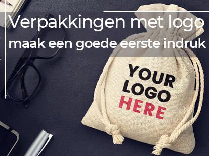 Verpakkingen met logo -  maak een goede eerste indruk