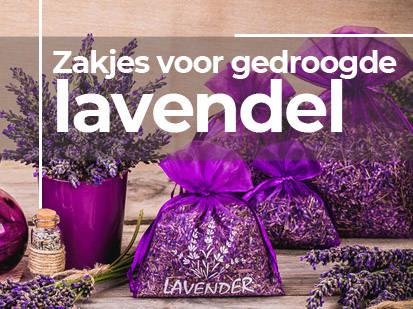 Zakjes voor gedroogde lavendel